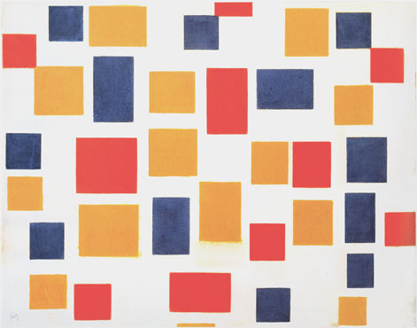 Composition with Color Planes 1, 1917